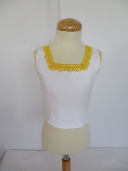 N Corpiño Laura Talla 4 amarillo